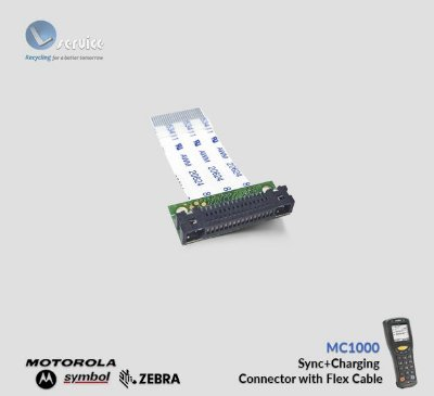 Sync+Conector de Carga com Flex Cable Zebra MC1000