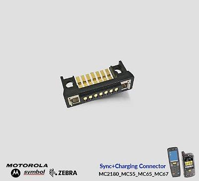 Sync+Conector de Carga Zebra MC2180/MC55/MC65/MC67