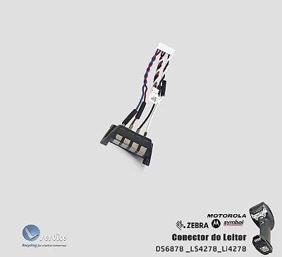 Conector do Leitor Zebra DS6878/LS4278/Li4278