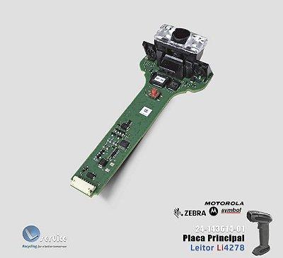 Placa Principal com scanner Leitor Zebra Li4278