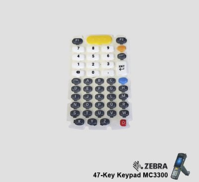 Membrana do Teclado (47 Teclas) Zebra MC3300