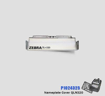 Nameplate Cover Zebra QLn320