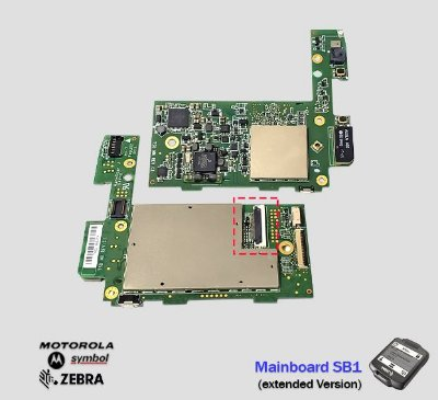 Placa Principal Zebra Motorola SB1 (Versão Extendida)