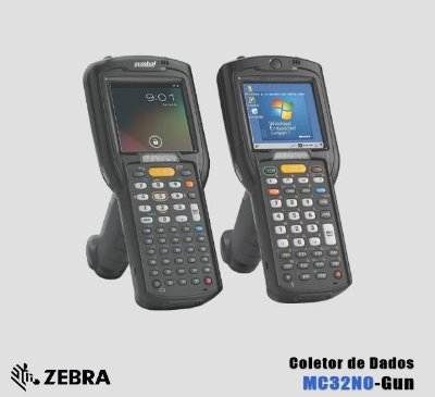 Coletor de Dados Motorola-Symbol-Zebra MC32N0-GUN