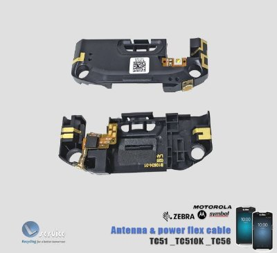 Antena_Power w/ Led_Flex cable Zebra Motorola TC51 TC510K TC56