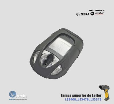 Tampa superior do Leitor Zebra LS3408/LS3478/LS3578