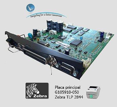 Placa Principal Zebra TLP2844 |G105910-050