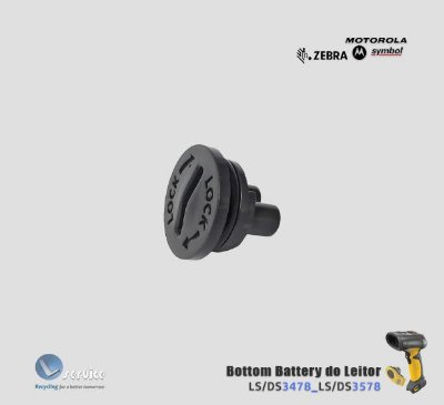 Bottom Battery do Leitor Zebra Symbol LS3478-DS3578