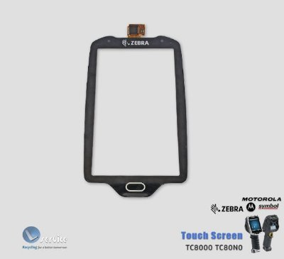 Touch Screen Zebra TC8000 TC80N0