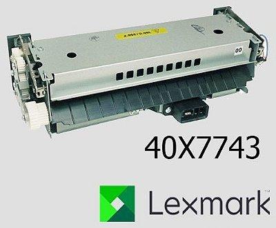 Unidade fusora Lexmark MX711 MX81X |40X7743