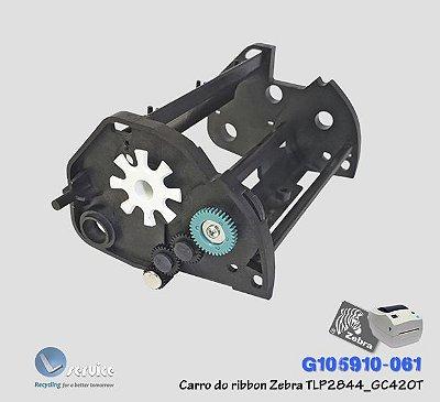 Kit Carro do Ribbon Zebra TLP2844_GC420T