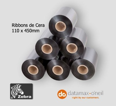 Ribbon De Cera - Impressora de etiquetas