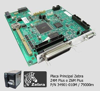 Placa Principal Zebra Z4M Plus|79000M|34901-010