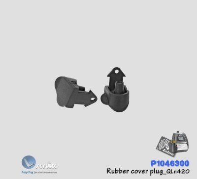 Rubber cover plug Zebra QLn420