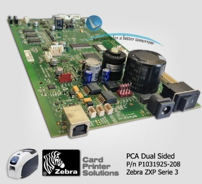 Placa principal Zebra ZXP3 - P1031925-208