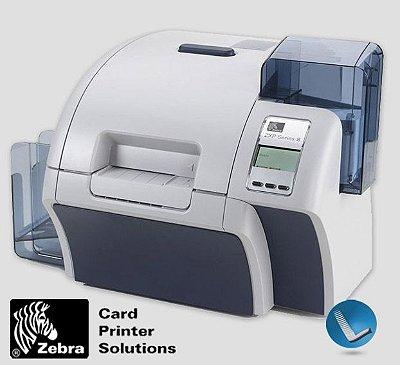 Impressora de crachás Zebra ZXP Serie 8