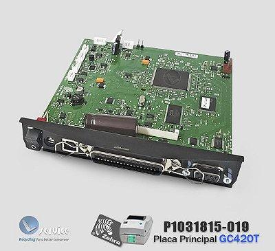 Placa principal Zebra GC420T | P1031815-019