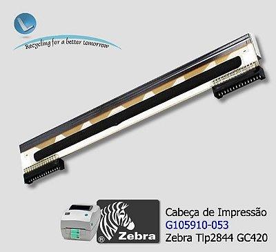 Cabeça de Impressão Zebra Tlp2844-GC420|G105910-053