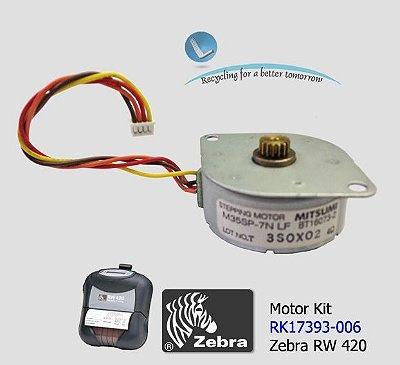 Motor Zebra RW420 - RK17393-006