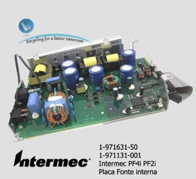 Placa fonte intermec  PF4i/ PM4i|1-971131-001