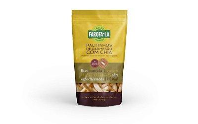 Snack - Palinhos de Parmesão com Chia 45g
