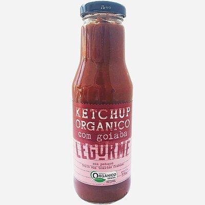 Ketchup orgânico com goiaba - 330g