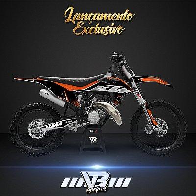 LANÇAMENTO - KIT GRÁFICO PREMIUM KTM