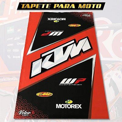 TAPETE MOTO - KTM