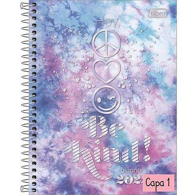 Planner Espiral Tilibra Good Vibes 2022