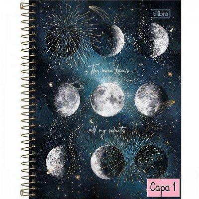 Caderno Espiral  Colegial 10 Mat Tilibra - Magic 160 Fls