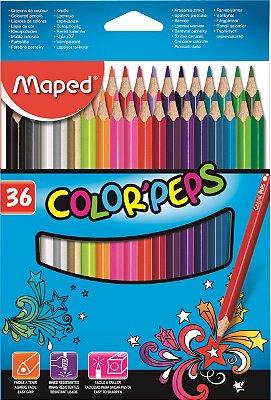 Lápis de Cor 36 Cores Maped