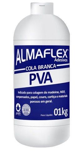 Cola PVA Branca Almaflex 1Kg 802