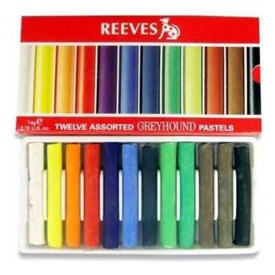 Giz Pastel Seco Soft Reeves C/12 Pss12