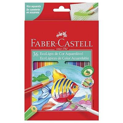 Lapis de Cor Aquarelável 36 Cores Faber Castell