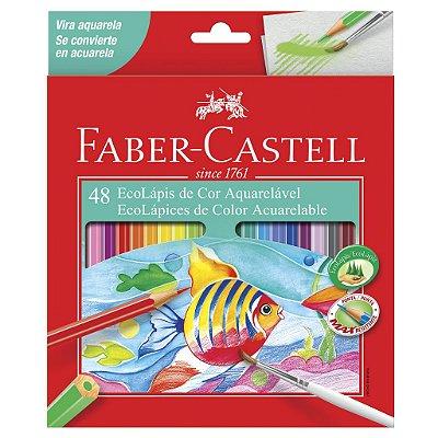 Lapis de Cor Aquarelável 48 Cores Faber Castell
