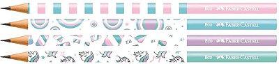 Lapis Preto Faber Castell Hb Nº 2 - Marshmallow