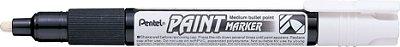 Marcador Permanente MMP20 Pentel - Branco