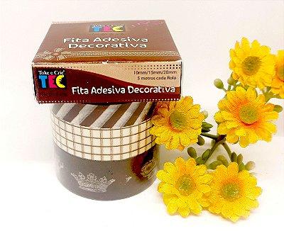 Fita Adesiva Decorativa Toke&Crie - Coroa