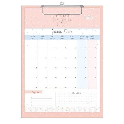 Calendário Planner Prancheta Soho 2020 Tilibra
