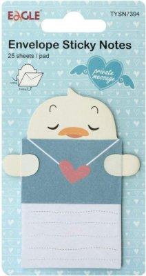 Sticky Notes Modelo Envelope Pato Eagle