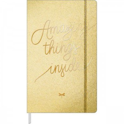 Caderno Executivo Pontilhado Costurado Capa Dura Fitto G Cambridge Shine 80 Folhas