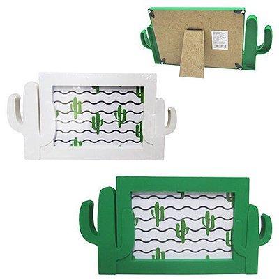 Porta Retrato Plástico Cacto 10x15