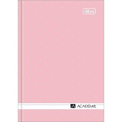 Caderneta Costurada Académie 80 Folhas Tilibra