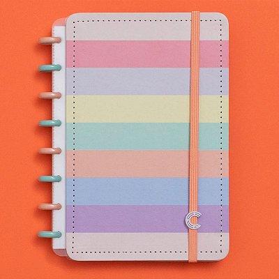 Caderno Inteligente Arco-Íris Pastel A5