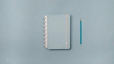 Caderno Inteligente Azul Pastel A5