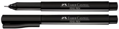Caneta Fine Pen Cores Faber Castell Avulsa