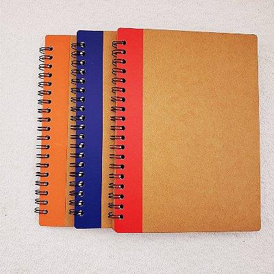 Caderneta Cosy Kraft  70 folhas - Cores