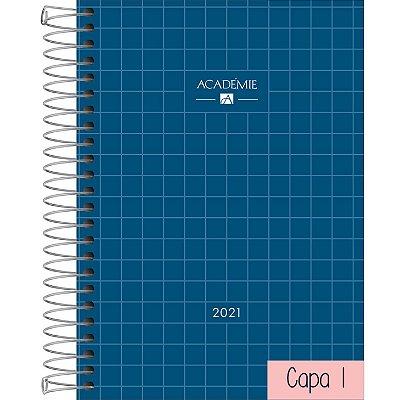 Agenda Espiral Diária Académie Tilibra Feminina 2021