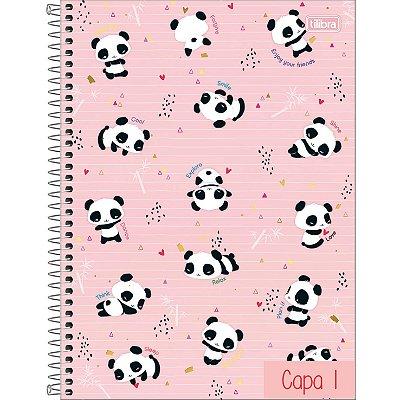 Caderno Universitário Tilibra 10 Matérias Lovely Friend 160 Folhas