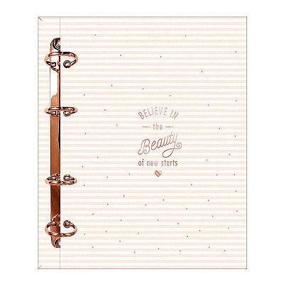 Caderno Argolado Tilibra Cartonado Colegial Soho 160 Folhas